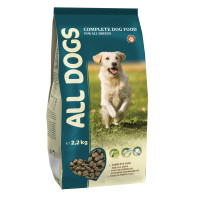 ALL DOGS Корм для взрослых собак 2,2кг