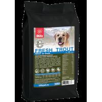 Blitz Holistic Низкозерновой корм для взрослых собак cвежая Форель 500г
