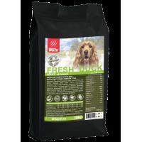 Blitz Holistic Низкозерновой корм для взрослых собак свежая Утка 1,5кг