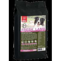 Blitz Holistic Низкозерновой корм для взрослых собак всех пород Свежий ягненок 1,5кг