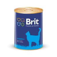 Brit Premium Консервы для кошек Индейка 340г