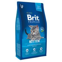 Brit Premium Корм с курицей в лососевом соусе для котят 800г
