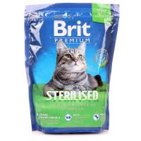 Brit Premium Корм с курицей и куриной печенью для кастрированных котов 300г