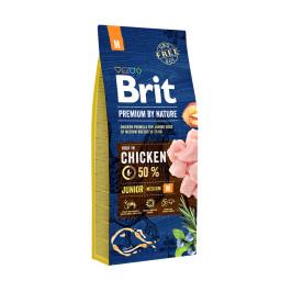 Brit Premium by Nature Junior M для молодых собак средних пород 18кг