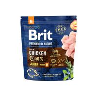 Brit Premium by Nature Junior M для молодых собак средних пород 1кг