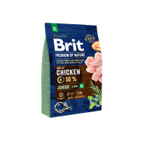 Brit Premium by Nature Junior XL для молодых собак гигантских пород 3кг