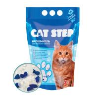 Cat Step Arctic Blue Наполнитель впитывающий силикагелевый 3л