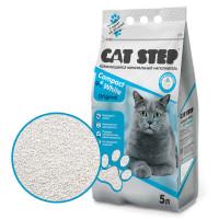 Cat Step Compact White Original Наполнитель минеральный комкующийся 5л