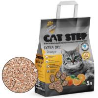 Cat Step Extra Dry Orange Наполнитель впитывающий минеральный 5л