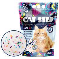Cat Step Arctic Art Наполнитель впитывающий силикагелевый 3,8л