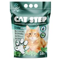 Cat Step Arctic Fresh Mint наполнитель впитывающий силикагелевый Мята 3,8 л