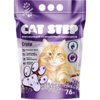 Cat Step наполнитель впитывающий силикагелевый Лаванда 7,6л
