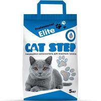 Cat Step Professional Elite Наполнитель комкующийся бентонитовый 5кг