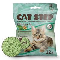 Cat Step Tofu Green Tea Наполнитель растительный, комкующийся 12л
