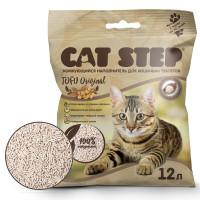 Cat Step Tofu Original Наполнитель растительный, комкующийся 12л