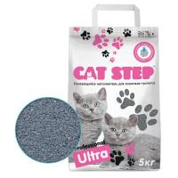 Cat Step Professional Ultra Наполнитель комкующийся бентонитовый 5кг