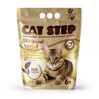 Cat Step Tofu Original Наполнитель растительный, комкующийся 6л