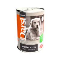 Дарси Консервы для собак с чувствительным пищеварением Паштет Индейка и Утка 410г