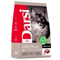Дарси Корм для взрослых кошек Мясное ассорти 300г