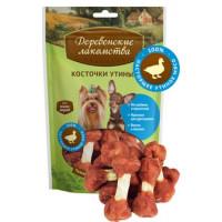 Деревенские лакомства Косточки утиные для для собак мини-пород 55г