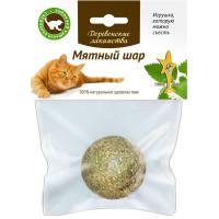 Деревенские лакомства Мятный шар (игрушка для кошек)