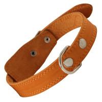 Gamma Ошейник кожаный c кольцом, 25мм*560мм