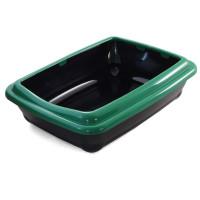Gamma Туалет для кошек прямоугольный с бортом, ШТИЛЬ 455*355*130мм