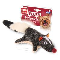 GIGwi игрушка для собак Скунс с пищалкой 9см