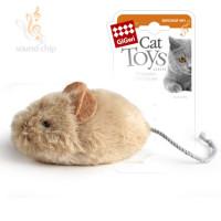 GIGwi игрушка для кошек Мышка со звуковым чипом 13см