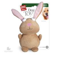 GiGwi игрушка для собак Кролик с пищалкой 18см