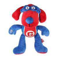 GiGwi Игрушка для собак Собака с теннисным мячом и пищалкой