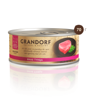 Grandorf Консервы для кошек Филе тунца 70г