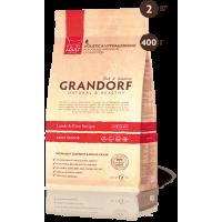 Grandorf Ягненок с рисом для домашних кошек 400г