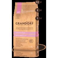 Grandorf Ягненок с рисом для щенков всех пород 3кг