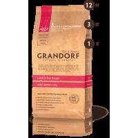 Grandorf Ягненок с рисом для взрослых собак средних пород 1кг