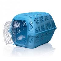 Imac Переноска для животных Carry Sport с пластиковой дверью, пепельно-синий, 48,5*34*32см