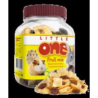 Little One Лакомство для грызунов фруктовая смесь банка 200г