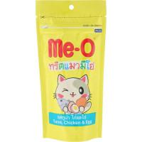 Ме-О лакомство для кошек Тунец, курица и яйцо (зубочистики) 50г