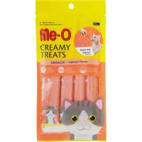Ме-О лакомство-крем для кошек Лосось 60г