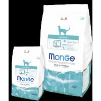 Monge Cat Hairball Корм для кошек для выведения комков шерсти 10кг