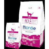 Monge Cat Indoor Корм для домашних кошек 1,5кг