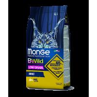 Monge BWild Cat Hare Корм для взрослых кошек с мясом зайца 1,5кг