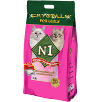 N1 Cristals For Girls Наполнитель силикагелевый 12,5л
