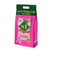 N1 Cristals For Girls Наполнитель силикагелевый 5л