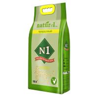 N1 Naturel Наполнитель Кукурузный комкующийся 17,5л