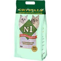 N1 Crystals Наполнитель силикагелевый антибактериальный 5л