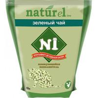 N1 Naturel Наполнитель Зелёный чай комкующийся 4,5л