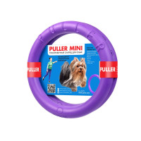 PULLER mini Игрушка тренировочный снаряд для мелких пород собак 19см (в комплекте 2шт)