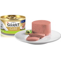 Purina Gourmet Gold Консервы для кошек паштет Кролик 85г