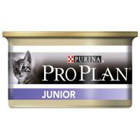 Purina Pro Plan Junior  Консервы корм для котят Курица, банка, 85г